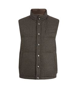 Thom Sweeney | Reversible Wool Quilted Down Gilet