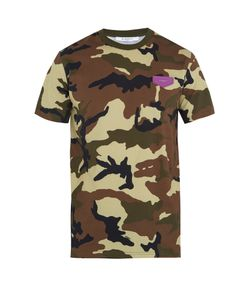 Givenchy | Cuban-Fit Camouflage-Print T-Shirt