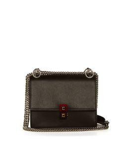 Fendi   Kan I Leather Cross-Body Bag