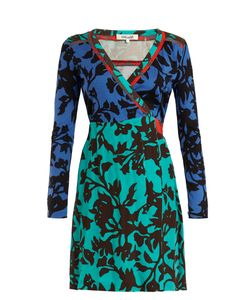 Diane Von Furstenberg | Brulon Foliage-Print Wrap Dress