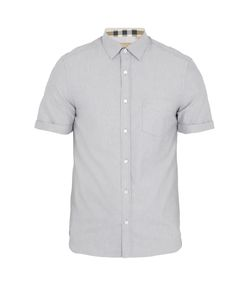 Burberry | Reagan Short-Sleeved Cotton Shirt