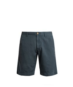 Faherty | Malibu Linen And Cotton-Blend Shorts