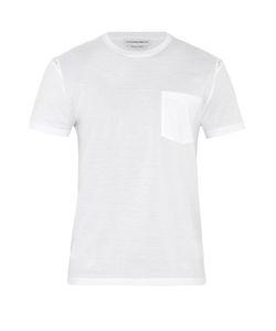 Alexander McQueen | Skull-Print Insert Cotton T-Shirt
