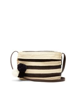 Sophie Anderson | Ana Striped Straw Shoulder Bag