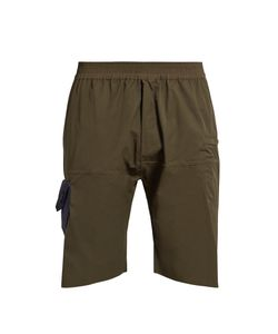 LONGJOURNEY | Hangar Patch-Pocket Cotton Shorts