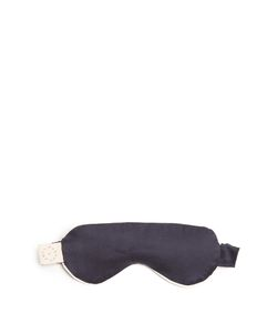 MORPHO + LUNA | Gemma Sandwashed-Silk Eye Mask