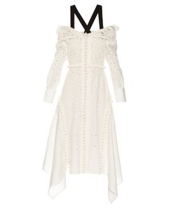 Proenza Schouler | Off-The-Shoulder Broderie-Anglaise Dress