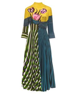Mary Katrantzou | Carni Tulip-Print Silk Dress