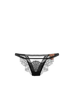 COCO DE MER | Panthera Lace And Tulle Briefs
