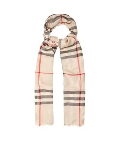 Burberry | House-Check Wool And Silk-Blend Scarf