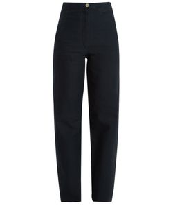 LEMAIRE | High-Rise Wide-Leg Jeans