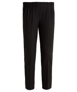 Brunello Cucinelli | Slim-Leg Wool-Blend Cropped Trousers