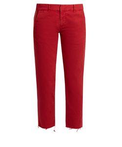 Nili Lotan | East Hampton Stretch-Cotton Trousers