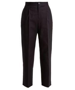 A.P.C.   Amalfi Stretch-Cotton Cropped Trousers