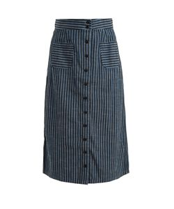 ACE & JIG | Bo High-Rise Striped Skirt