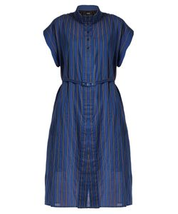 Rachel Comey | Oasis Banker-Striped Cotton-Blend Dress