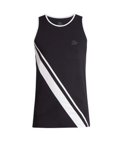 EVERY SECOND COUNTS | Retro Diagonal-Stripe Tank Top