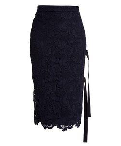 No. 21 | Macramé-Lace Side-Slit Skirt