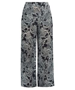 Acne | Tennessee Paisley-Print Wide-Leg Trousers