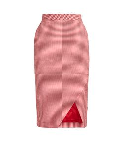 Altuzarra | Wilcox Gingham Pencil Skirt