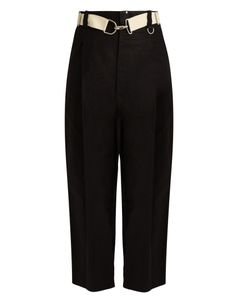 Y'S BY YOHJI YAMAMOTO | Cotton And Linen-Blend Trousers