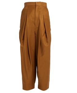 Y'S BY YOHJI YAMAMOTO | High-Rise Pleated Trousers