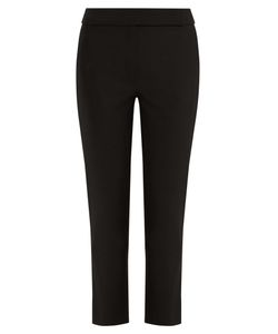OSMAN | Audrey Wool-Blend Cropped Trousers
