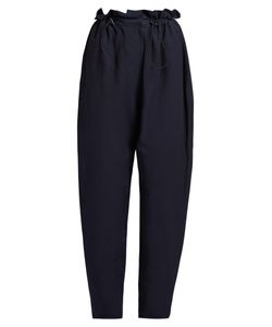 Stella Mccartney | Paperbag-Waist Tapered Trousers