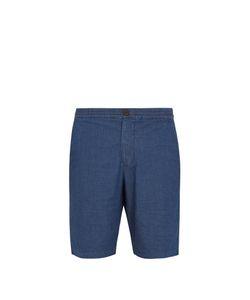Oliver Spencer   Geometric-Print Stretch-Cotton Shorts