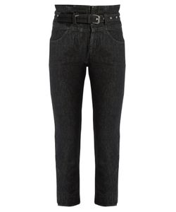 Isabel Marant | Evera High-Rise Cropped Jeans