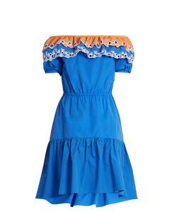 Peter Pilotto | Pallas Off-The-Shoulder Cotton Dress