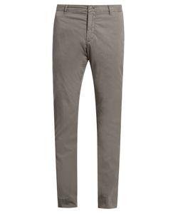 J.W. Brine | Owen Cotton-Blend Gabardine Chino Trousers