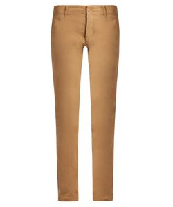 Tomas Maier | Mid-Rise Slim-Leg Stretch-Cotton Trousers