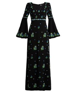 Andrew Gn | -Embellished Crepe Gown