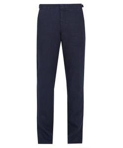Orlebar Brown | Griffon Slim-Leg Linen Trousers