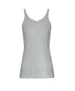 Skin   Scoop-Neck Cotton Pyjama Tank Top