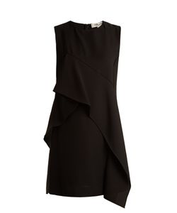 Diane Von Furstenberg | Asymmetric-Ruffle Sleeveless Dress