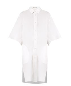 Acne | Debrah Cotton-Poplin Shirtdress