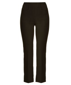 Roland Mouret | Goswell Kick-Flare Crepe Trousers