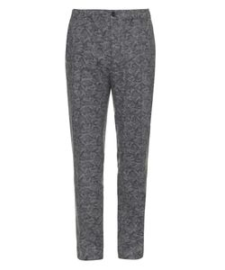 Maison Kitsune | Camouflage-Print Wool Trousers