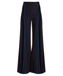 GALVAN | Chan Chan High-Rise Wide-Leg Trousers