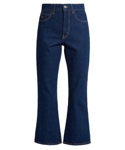 ATTICO | Rosa High-Rise Kick-Flare Jeans