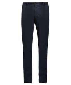 Incotex | Slim-Leg Cotton-Blend Chino Trousers