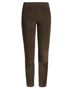 Vince | Suede Cropped Trousers