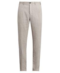 J.W. Brine | Mike Straight-Leg Linen Trousers