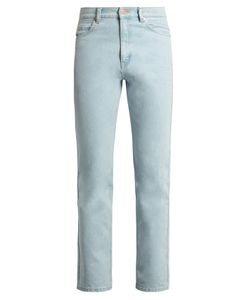 MARTINE ROSE | High-Rise Slim-Leg Jeans