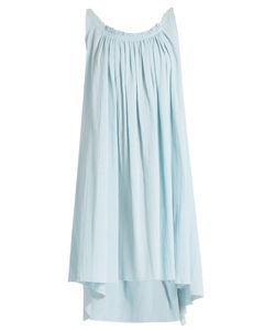 LOUP CHARMANT   Gather Shortie Cotton-Gauze Dress