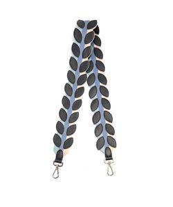 Fendi | Strap You Flower Petal-Appliqué Leather Bag Strap