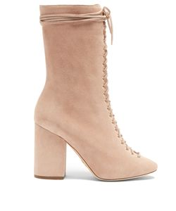 BROTHER VELLIES | Lali Lace-Up Suede Boots