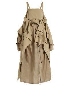 Maison Margiela | Cotton Deconstructed-Trench Dress